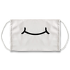 Toon Mouth Grin White Face Mask