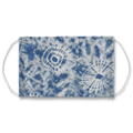Blue Boho Tie Dye Pattern Face Mask