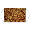 Golden Paisley Face Mask