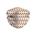 Red - White - Blue Stars Face Mask
