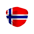 Norway Flag Face Mask