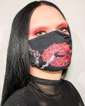 Sparkyle Studio Smoking Lips Face Mask