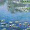 Water Lilies (1906) by Claude Monet Face Mask