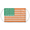 Irish American Flag Face Mask