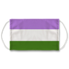 Genderqueer Flag Face Mask