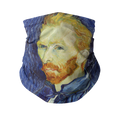 Van Gogh Self Portrait Gaiter/Face Cover