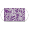 Purple Boho Tie Dye Pattern Face Mask