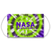 Nasa It is Rocket Science Neon Green Tie Dye Face Mask