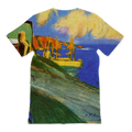 Gypsy in Front of Musca (1900) by Pablo Picasso All-Over Print T-Shirt