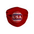 USA Crest Face Mask