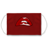 Rock Rollin Horror PopArt Lips Face Mask