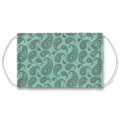 Classic Mint Paisley Face Mask