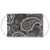 Black & White Paisley Face Mask