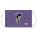 Purrrrrple Rain Face Mask
