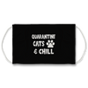 Quarantine Cats & Chill Face Mask