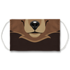 Animal Friends Bear Face Mask