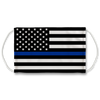 American Police Flag Face Mask