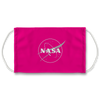 Nasa Logo Pink Face Mask