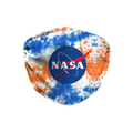 Nasa Meatball Logo Tie Dye Face Mask