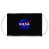 Nasa Air Brush Logo Face Mask