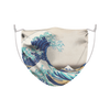 The Great Wave Off Kanagawa by Katsushika Hokusai Face Mask