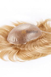 Transparent 0.08mm Thin Poly Hair Replacement System For Men