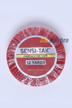 Load image into Gallery viewer, Red 12 Yard 3/4 Inch Double Side Lace Front Support Tape Roll For Hair Systems