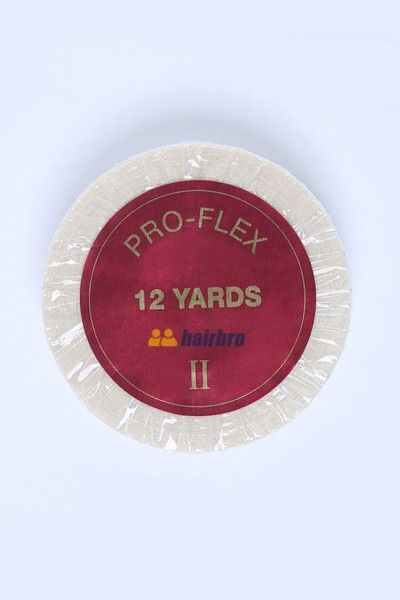 Pro-Flex II 3/4 X 12 Yard Tape Roll Hair Replacement System Tape