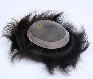 Fine Mono Center with Poly Around Hair Replacement System In Stock