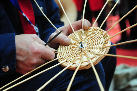 Straw weaving