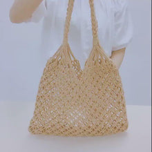 Load and play video in Gallery viewer, Beach Macrame Bag