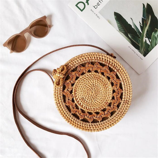 Braid Rattan bag