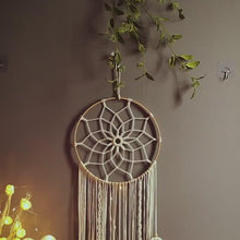 Load and play video in Gallery viewer, Macrame DreamCatcher