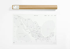 Mexico Map - Big -