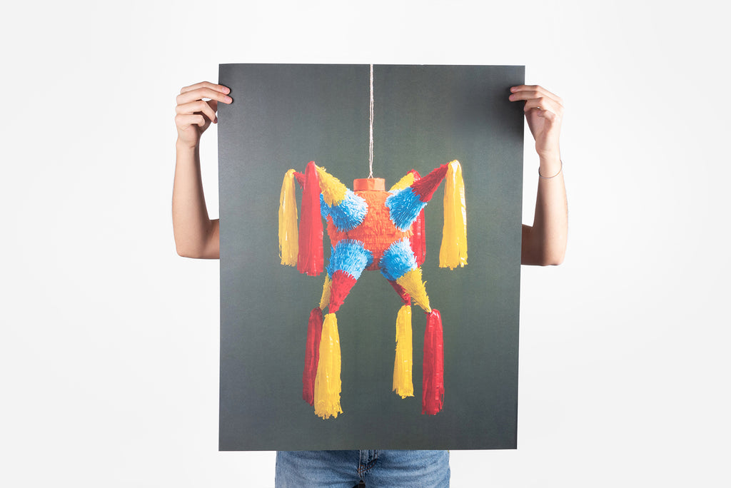 Piñata poster Color