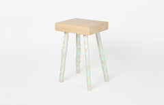 Hoz Stool - Light blue