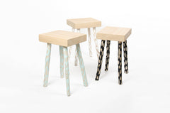 Hoz stool - White