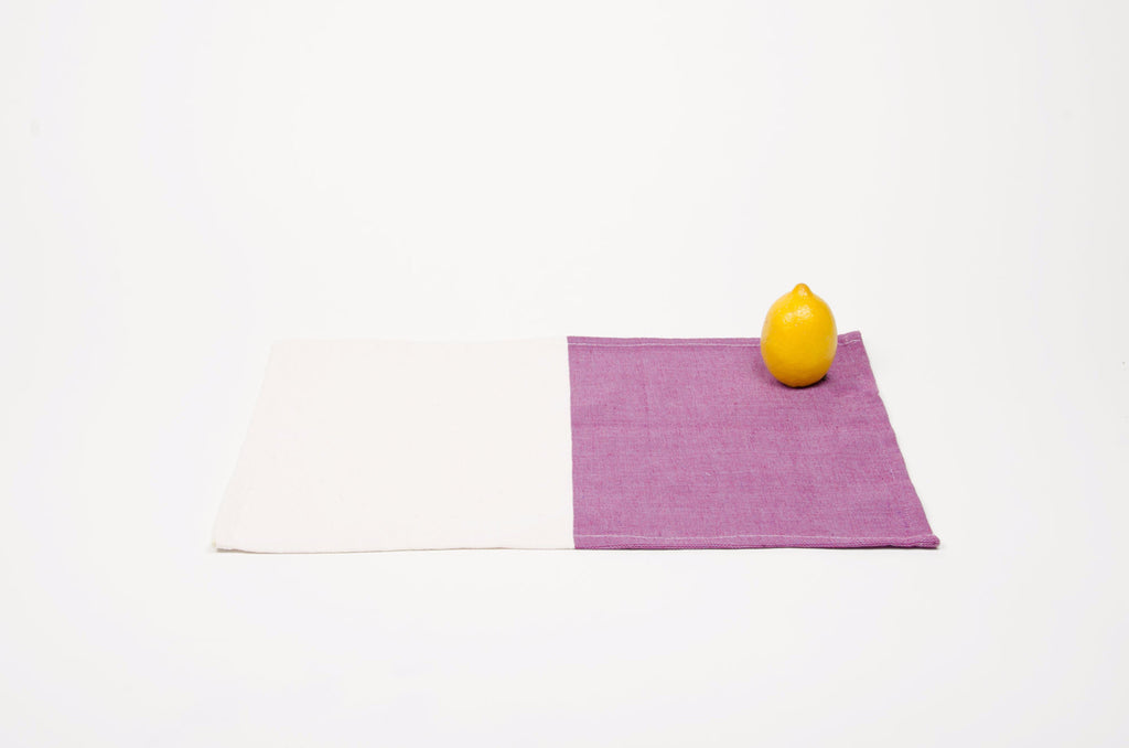 HH Color & Natural Individual Placemat-Napkin