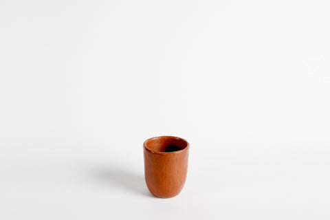 Red Clay Water Glass