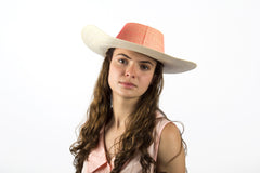 "Sombrero  ""Pink - Light Blue"""