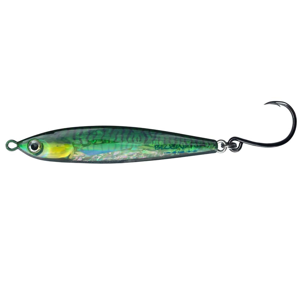Bluewater Bullet Bait 120mm Stick Bait Colour Green Mackerel