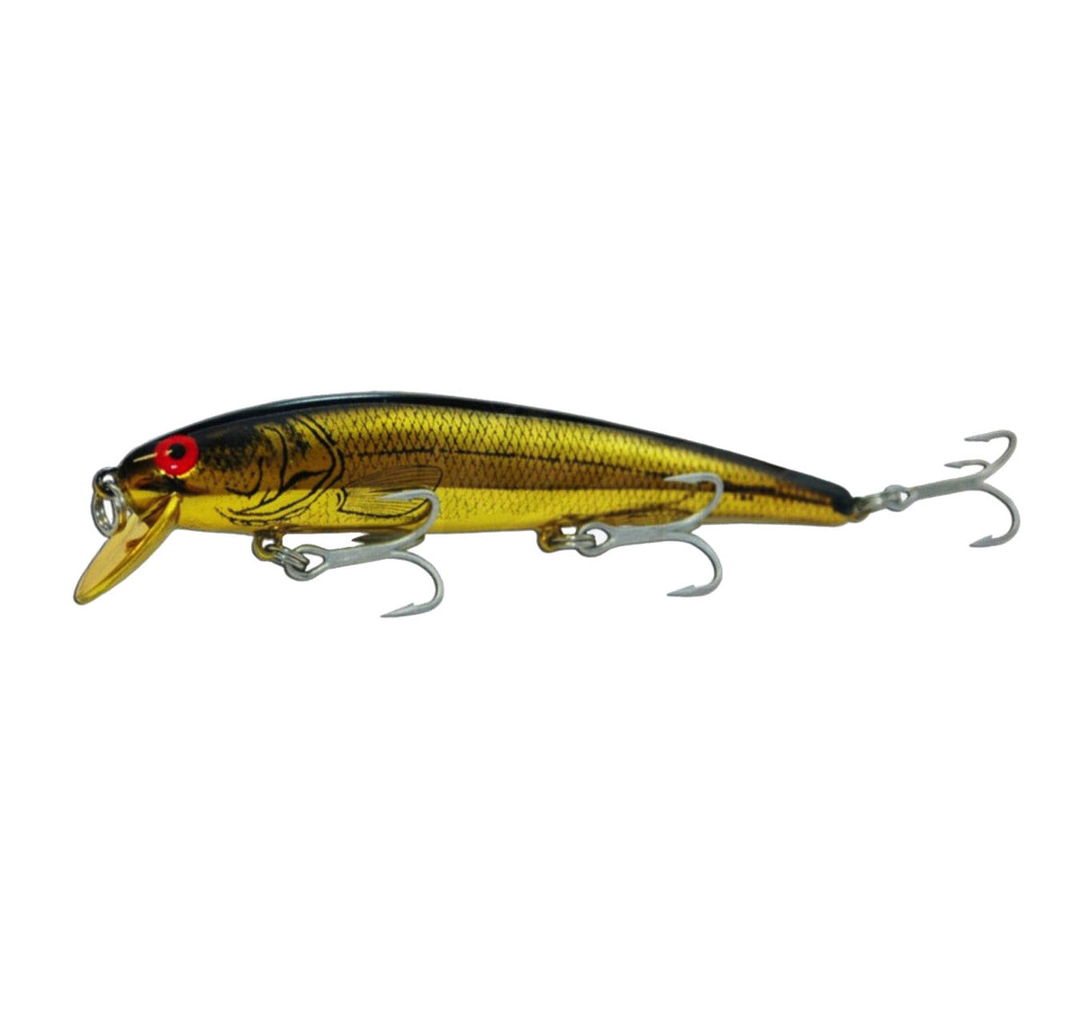 Bomber Long A B15A Lure Col Gold/Black