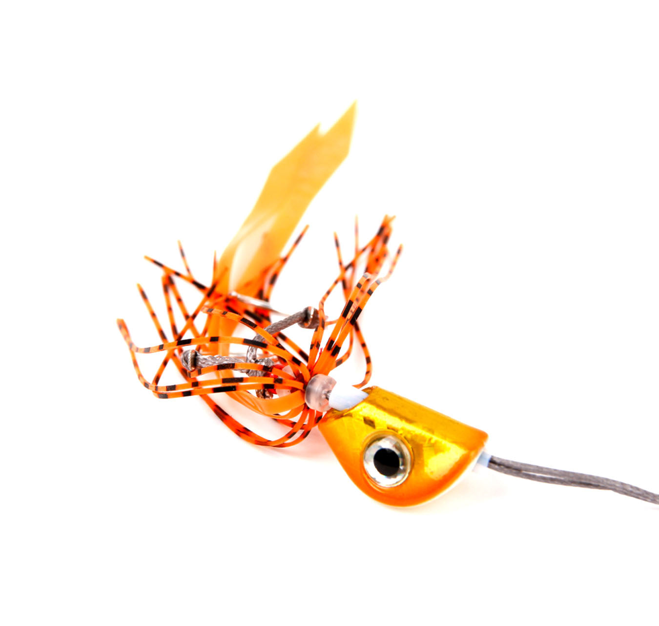 Catch Beady Eye Kabura Jig Orange Crackle