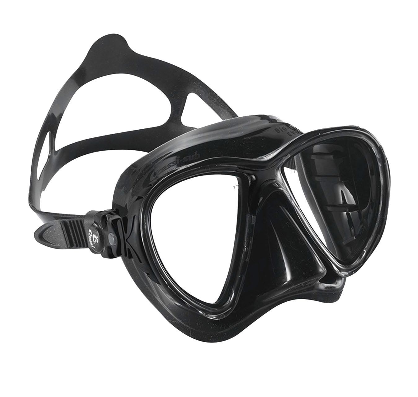 Cressi Big Eyes Evo Mask Evo Black