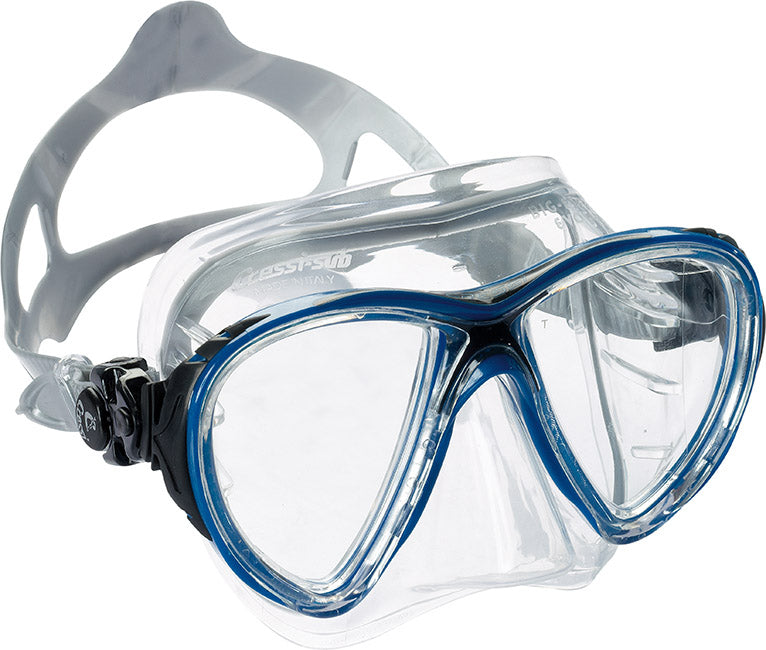 Cressi Big Eyes Evo Crystal Mask Blu/Blk