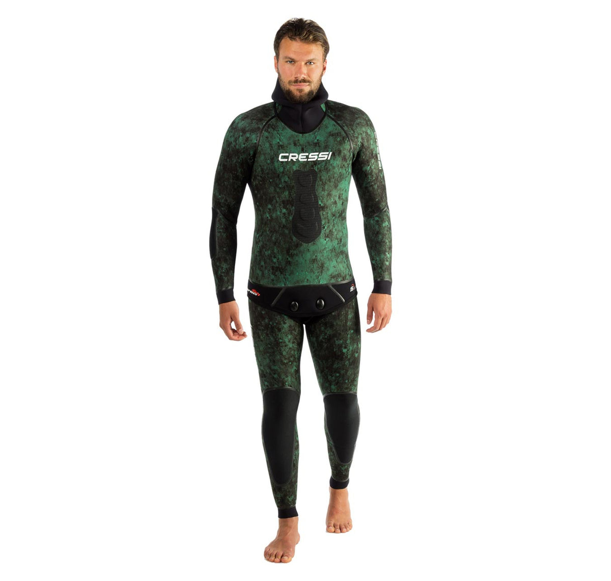 Cressi Scorfano 3.5mm 2 Piece Wetsuit Front