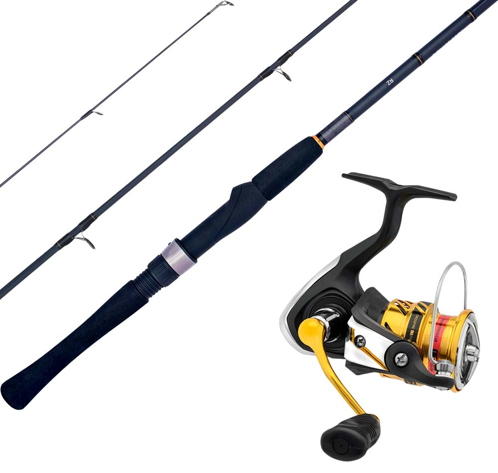Daiwa Crossfire LT Medium Spin Combo