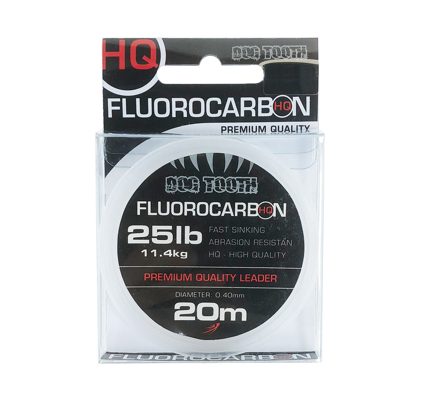 Dog Tooth Fluorocarbon HQ Leader