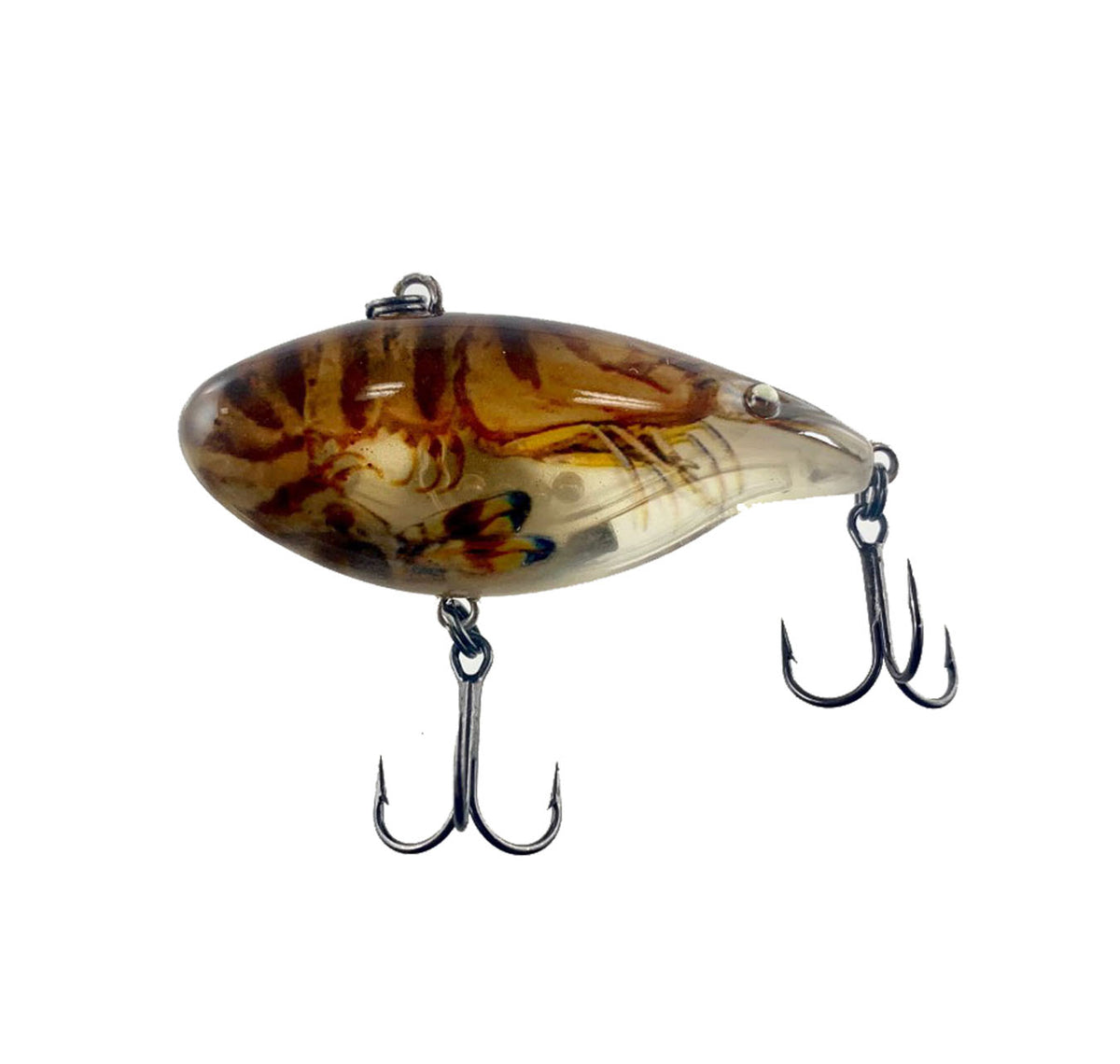 Ecooda Rattle Shrimp RT-60 Lures