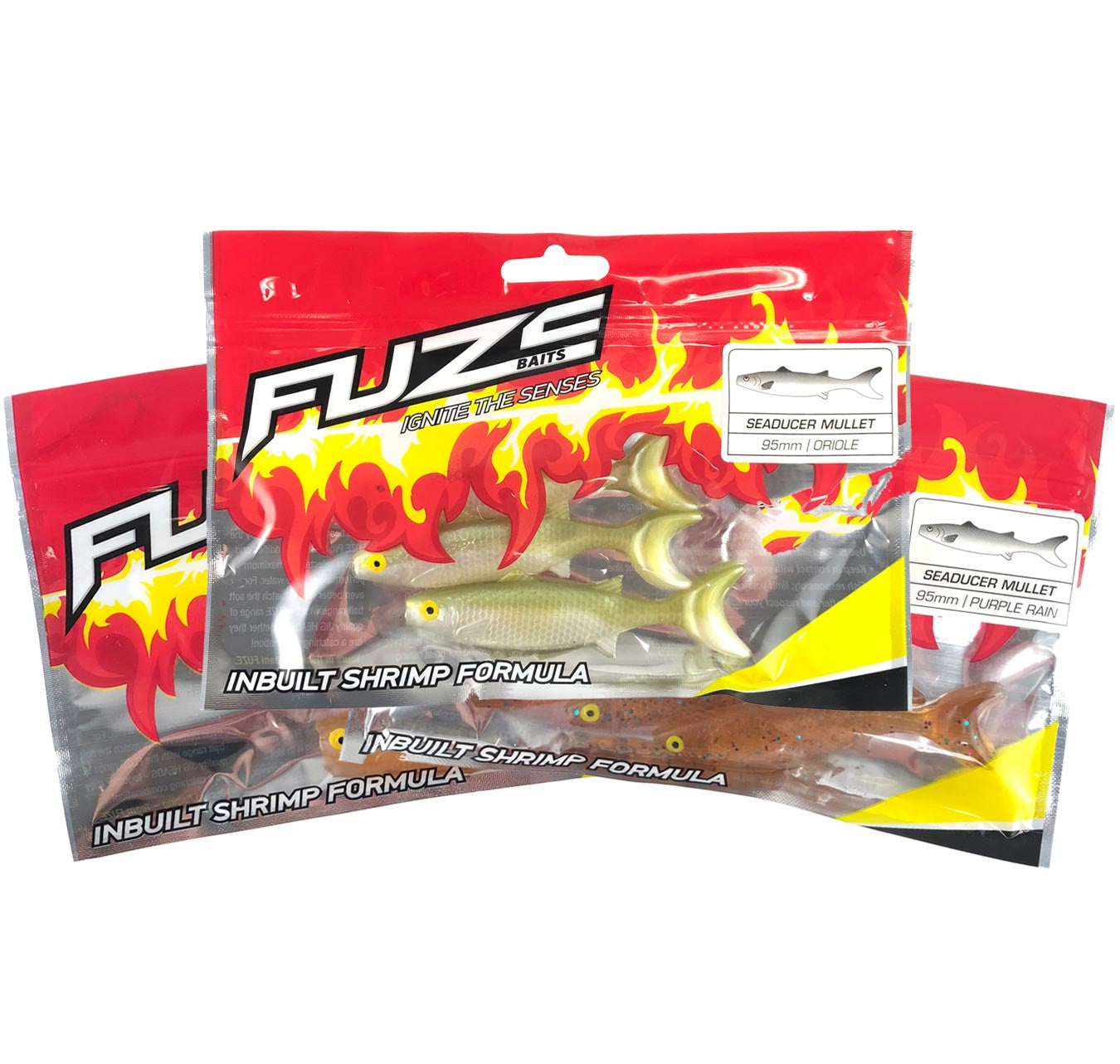 Fuze Jewfish Soft Plastics Pack